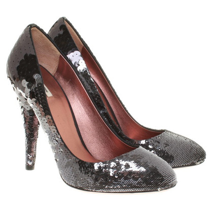 Miu Miu pumps with sequins