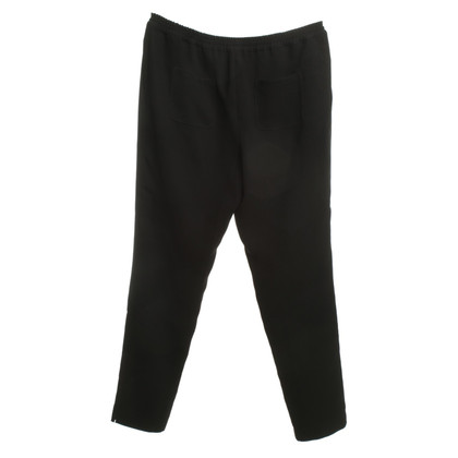Jil Sander Black pants made of polyester