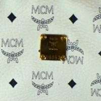 MCM Koffer mit Logoprint