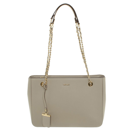 "DKNY Handbag ""Bryant Park"" in beige"