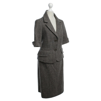 Céline Costume with herringbone pattern