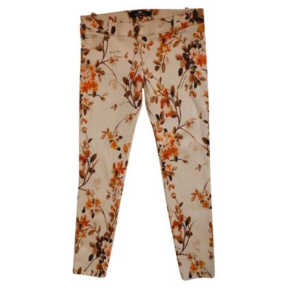 Elisabetta Franchi pants with flowers