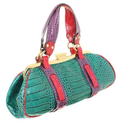Etro Handtasche aus Reptilleder