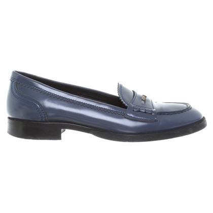 Bottega Veneta Loafer in rook blauw