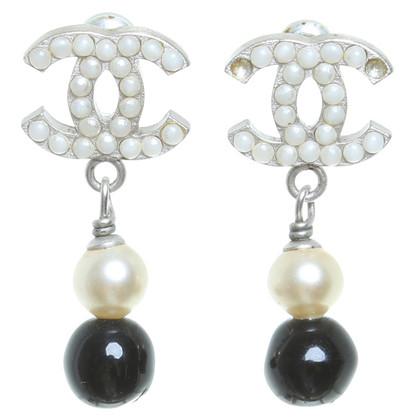 Chanel Fantasia logo orecchini