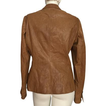 Hugo Boss Leather blazer