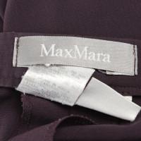 Max Mara Kostuum in donker paars