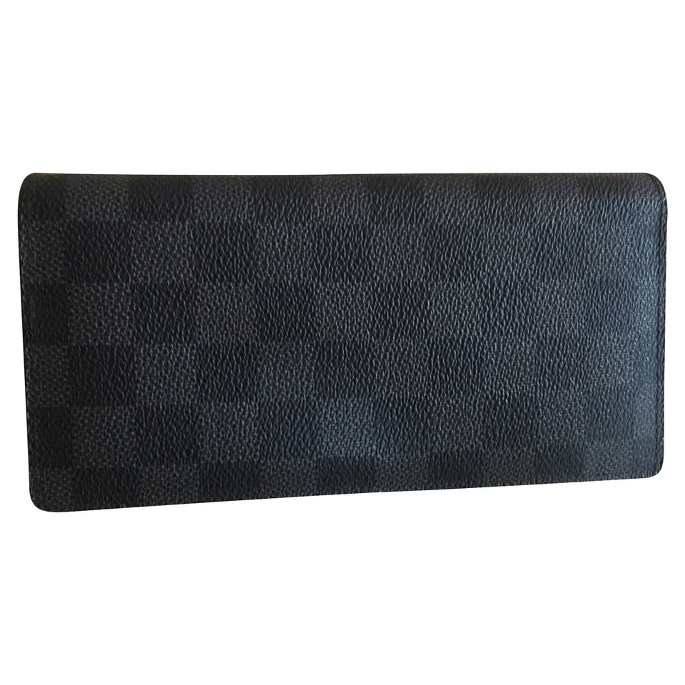 Louis Vuitton Wallet made Damier Graphite Canvas