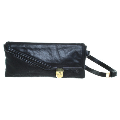 Hugo Boss Clutch aus Leder
