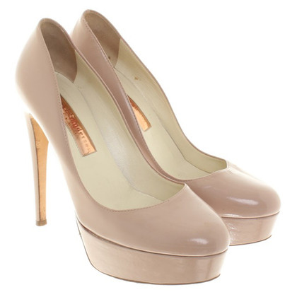 Rupert Sanderson pumps in nude