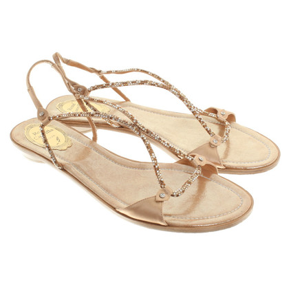 René Caovilla Sandals in beige