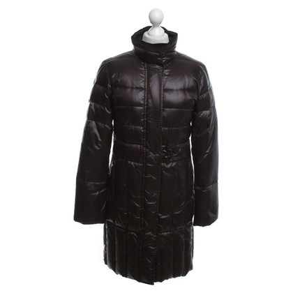 Fay Quilted coat in brown