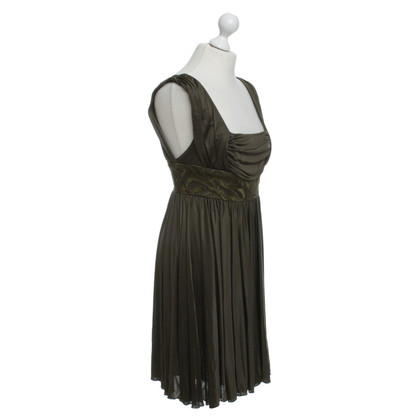 Versace Short dress in Khaki