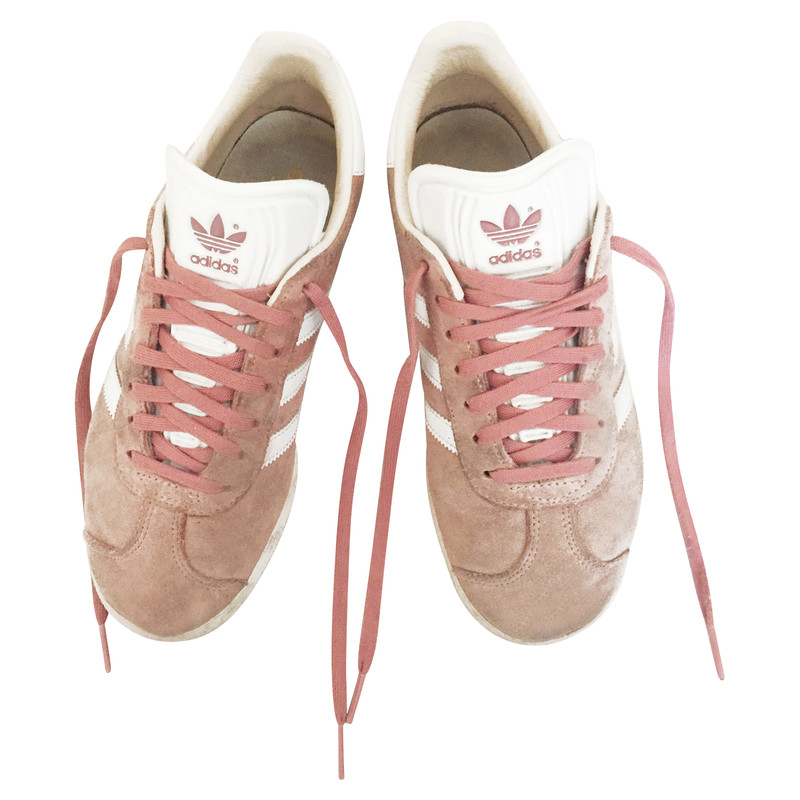 Adidas Trainers Suede in Nude - Second