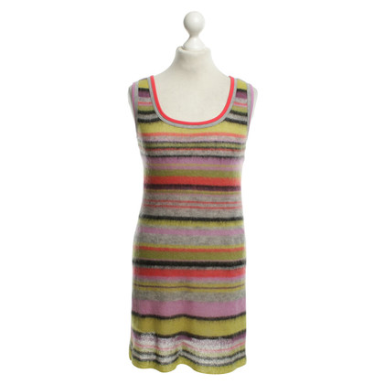 Marc Cain Dress with colored stripe pattern