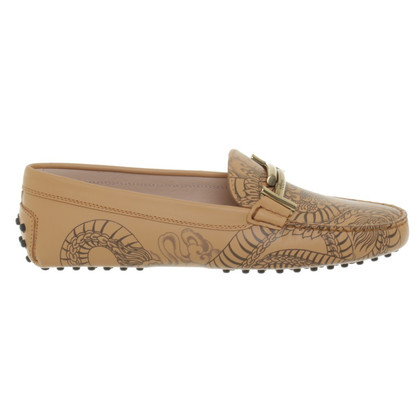 Tod's Moccasins in beige