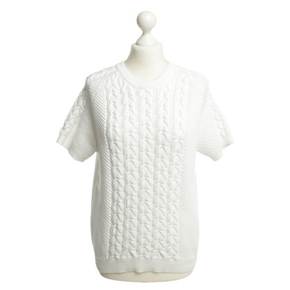 Joseph Knit pullover in white