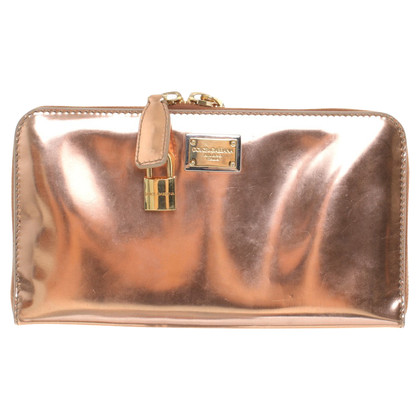 D&G Rose gold colored bag
