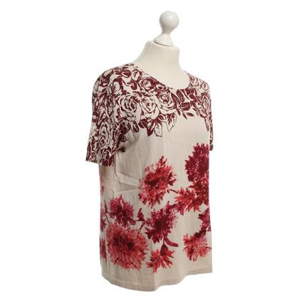 Max Mara T-shirt with floral print