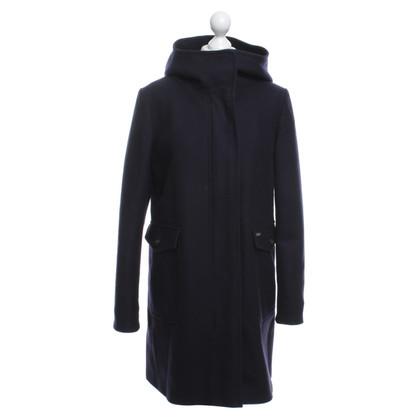 Woolrich Wool coat in blue