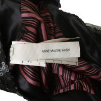 Anne Valerie Hash Robe manches courtes à paillettes