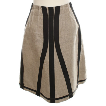 Dolce & Gabbana skirt in Beige / Black