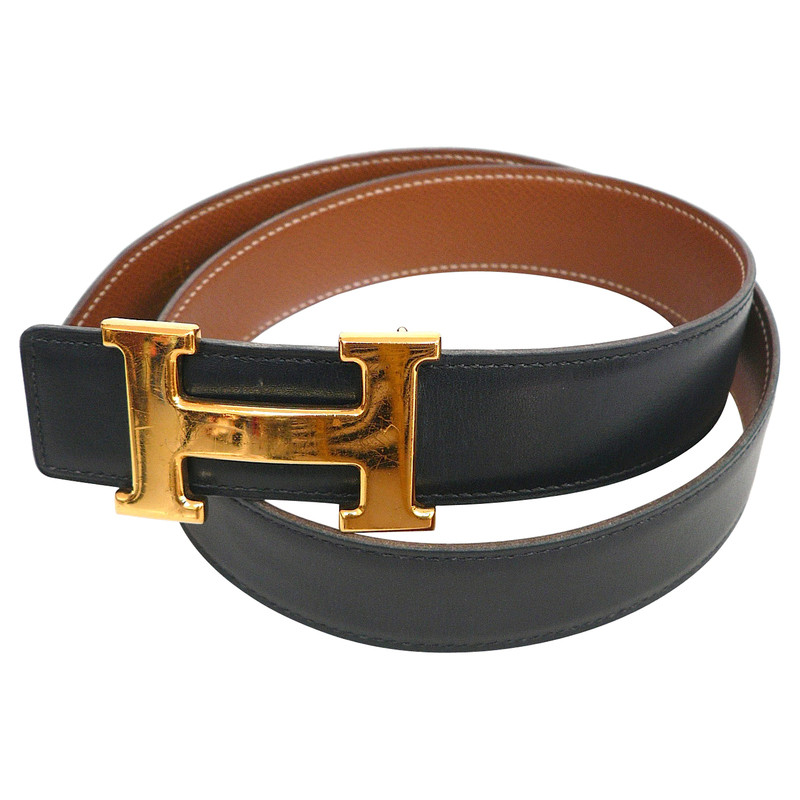 Hermès With H-belt buckle