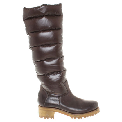Moncler Boots in brown
