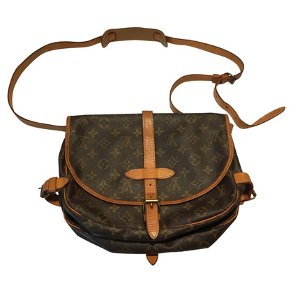 "Louis Vuitton ""Saumur Monogram Canvas"""