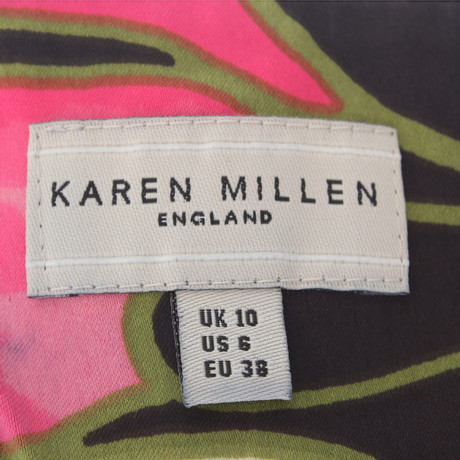 Neckholder Neckholder Karen Top Millen Muster mit Millen Top Karen Muster Bunt EXgqqZ