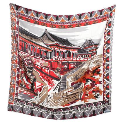 Prada Silk scarf with pattern