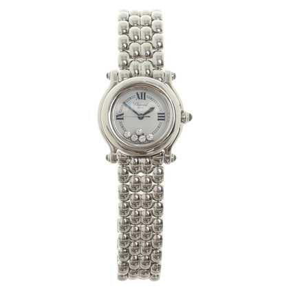 "Chopard Pm ""Happy Sport"" avec diamants"