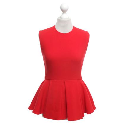 Christian Dior Peplo in rosso