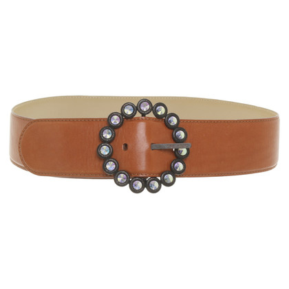 Escada Wide belt made of leather
