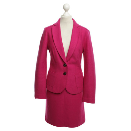 Marc Cain Wool costume in Magenta