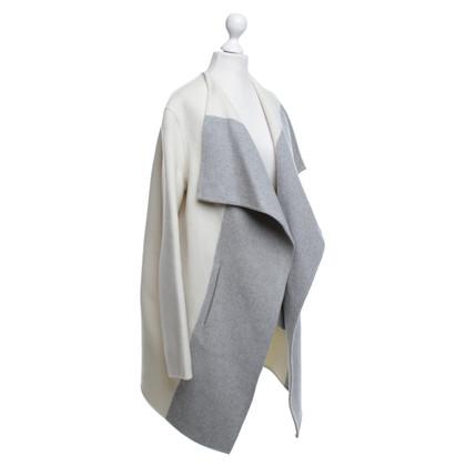 Closed Cappotto in crema / grigio