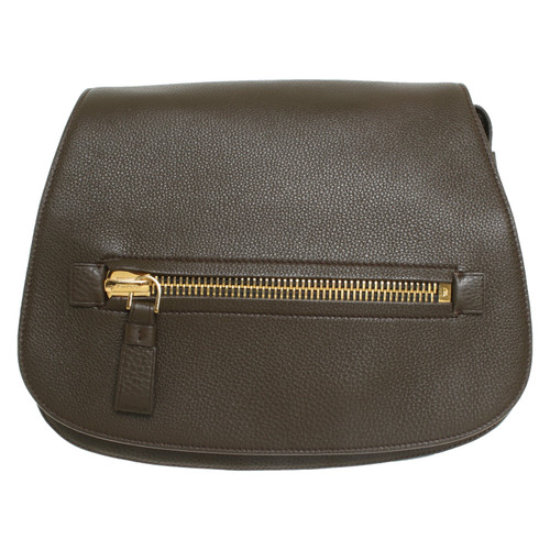 d076edbe5a Tom Ford Shoulder bag Leather in Brown - Second Hand Tom Ford ...