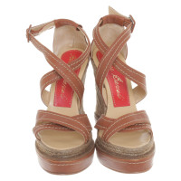 Paloma Barcelo Sandals with wedge heel
