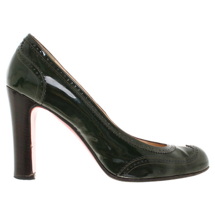 Christian Louboutin Pumps in Budapester-Optik