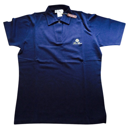 Loro Piana top in blue