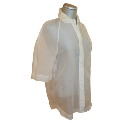 Strenesse White transparent blouse