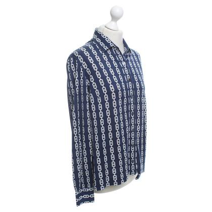 Céline Shirt blouse with pattern print