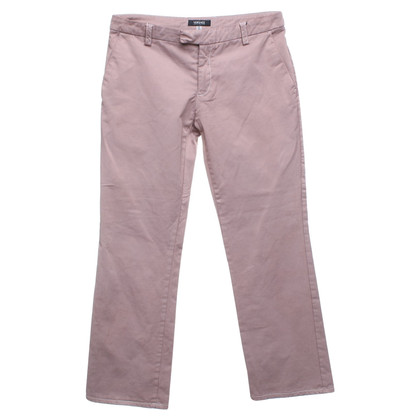 Versace trousers in blush pink