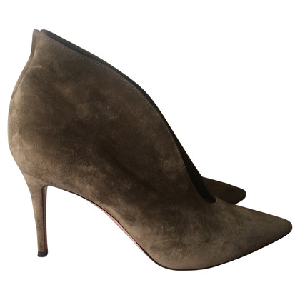 Gianvito Rossi Pumps aus Wildleder