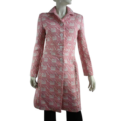 By Malene Birger Coat in pink / white