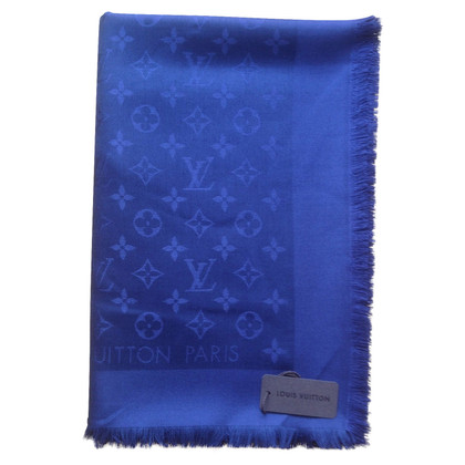 Louis Vuitton Monogram cloth in night blue