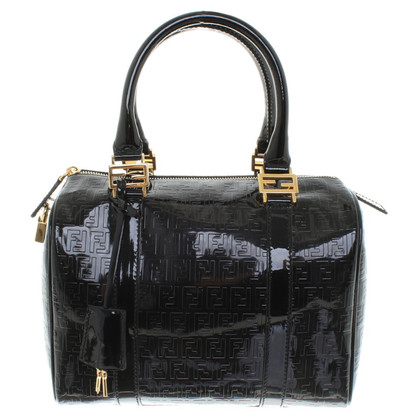 "Fendi ""Baulotto Forever Zucca Bag"" made of leaking leather"
