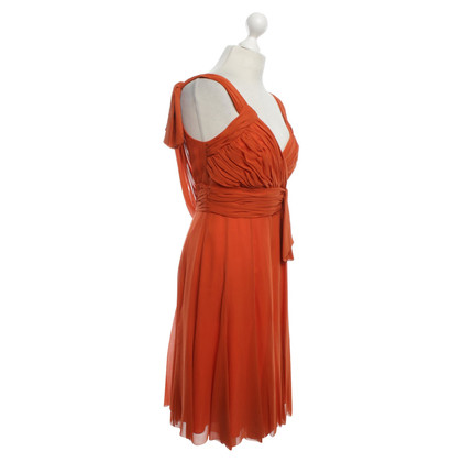 Karen Millen Seidenkleid in Orange
