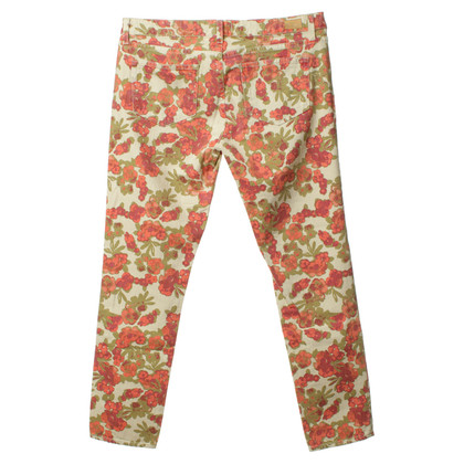 Paige Jeans Jeans with floral print