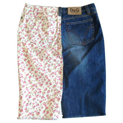 D&G denim skirt
